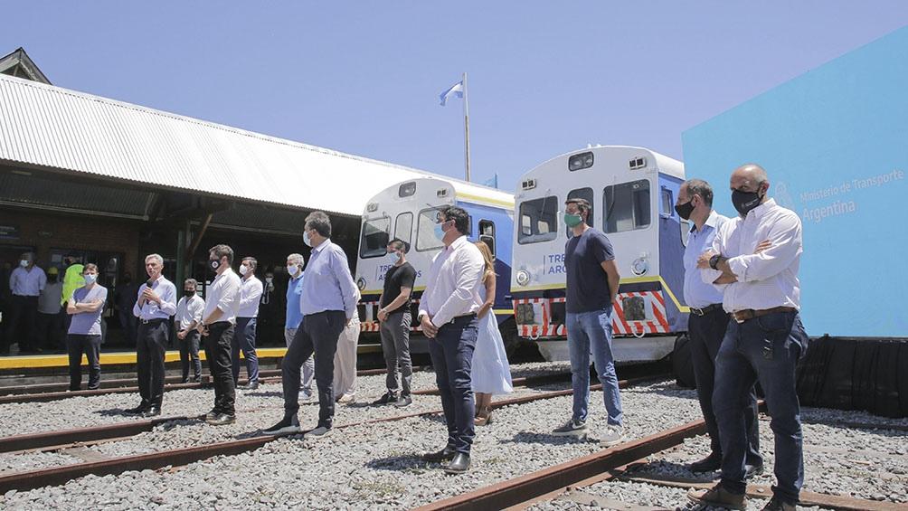 Y un día volvió a pasar el tren por Madariaga. A Pinamar costará $70 pesos ida. Detalles aquí.