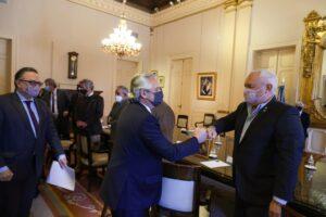 Carne: Fernández está reunido con exportadores y habrá conferencia de prensa