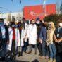 Claudia Villafañe y Lele Cristóbal se sumaron a una campaña por el Día del Donante de Sangre