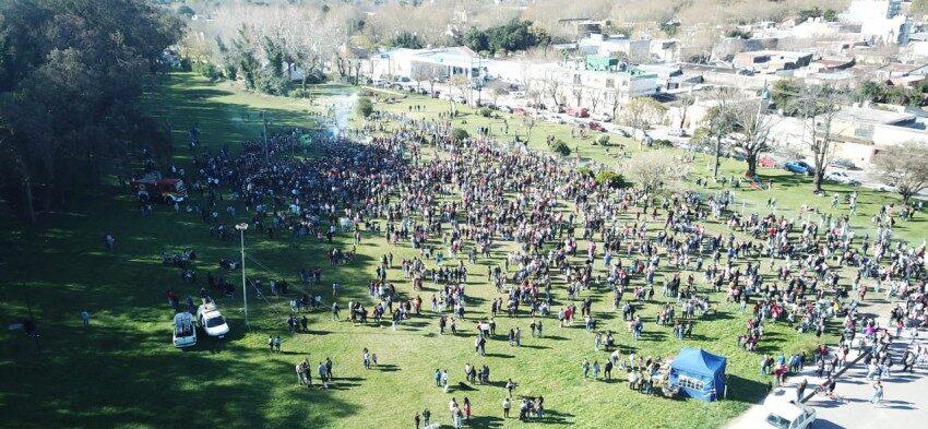 Los estudiantes celebraron su día. Fiesta de la Primavera y Día del Estudiante
