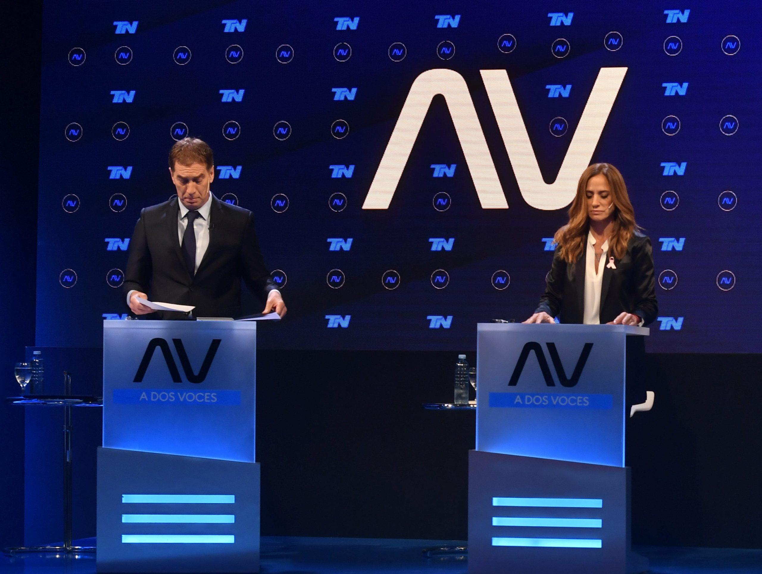 """""""Afilada"""" y """"sólido"""": cómo vieron Kicillof y Larreta a sus candidatos en el debate bonaerense"""
