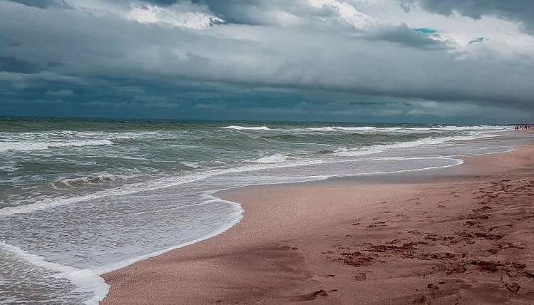 Alerta meteorológico por fuertes vientos para un sector de la Costa Atlántica