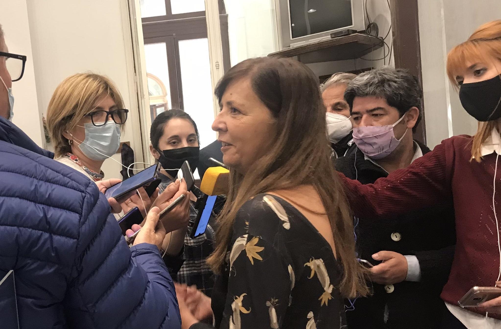 """Cerruti: """"No estaba previsto que Alberto Fernández fuera al acto"""""""