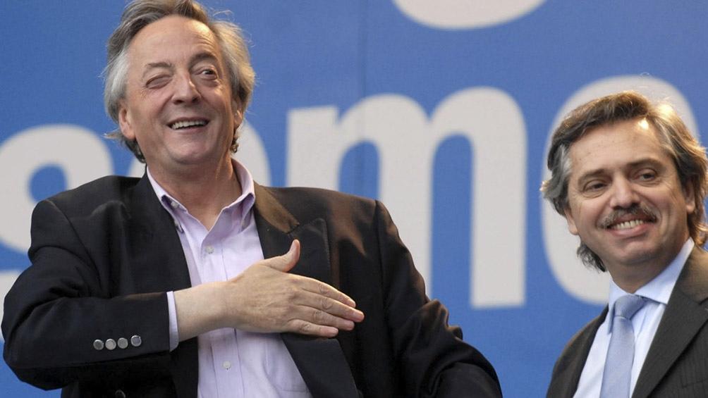 """""""Debo haber sido el primero que lo acompañó"""", el recuerdo de Alberto Fernández sobre Néstor Kirchner"""