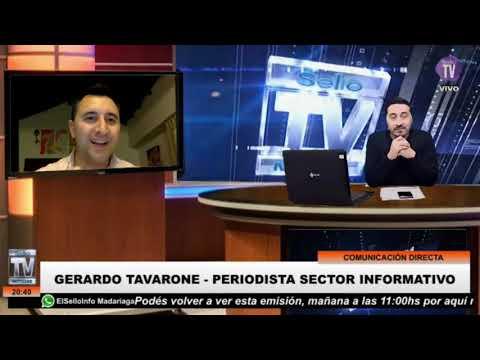 GERARDO TAVARONE – Periodista – Sector Informativo Villa Gesell