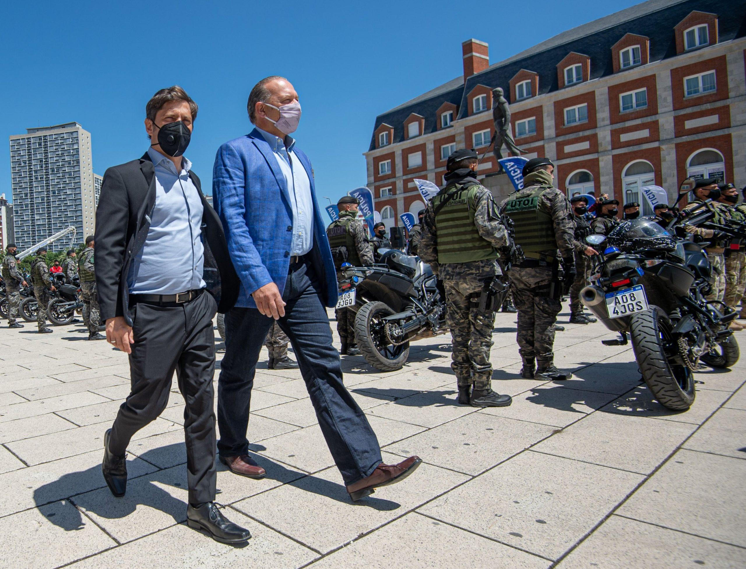 """Kicillof dijo que """"Berni es un gran ministro de Seguridad"""" y que quiere que siga en el cargo"""