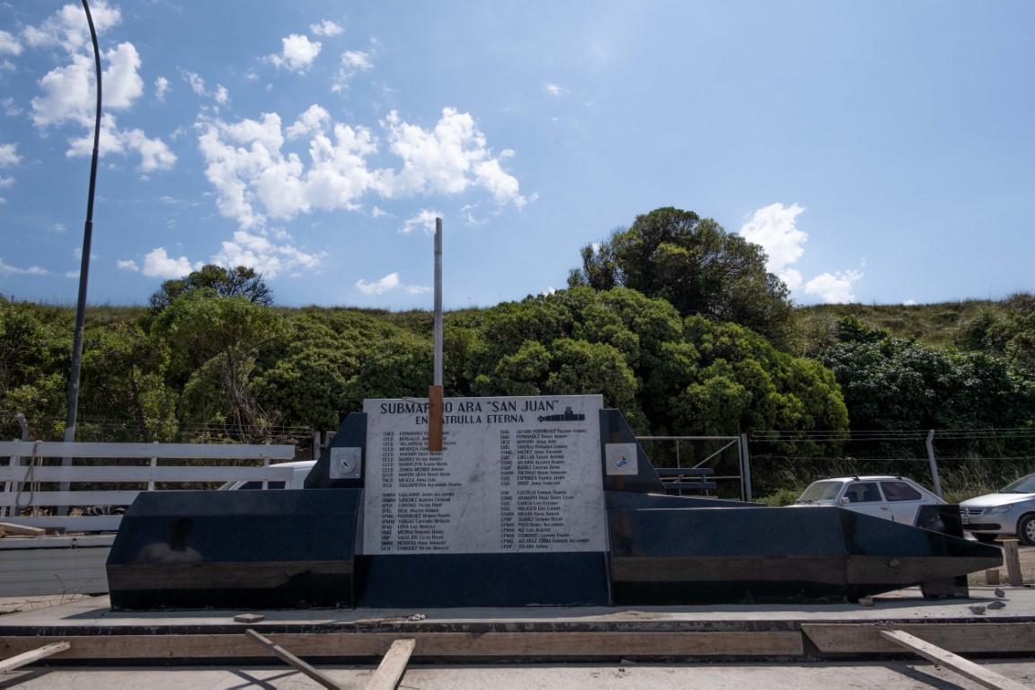Mar del Plata: inaugurarán un memorial por el ARA San Juan a cuatro años de su última zarpada