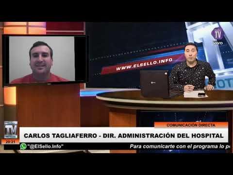 NOTA: Carlos Tagliaferro – Director administración del Hospital. 22/09/21