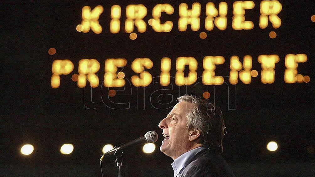Recuerdan a Néstor Kirchner en las redes sociales